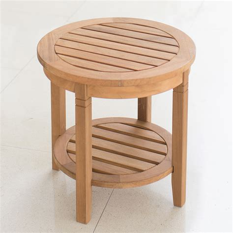 Outdoor Wooden Side Table Plans